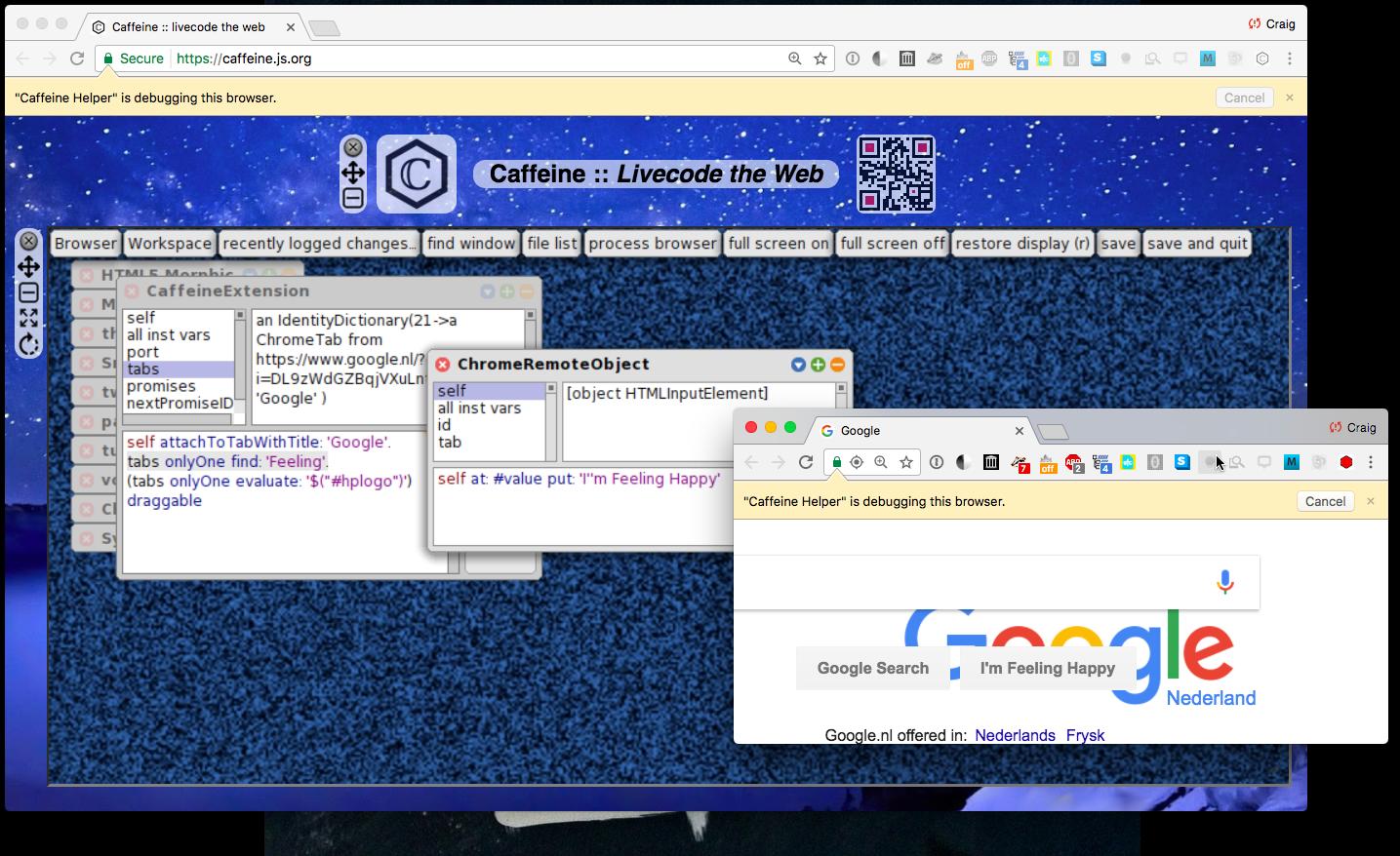 Chrome Debugging Protocol